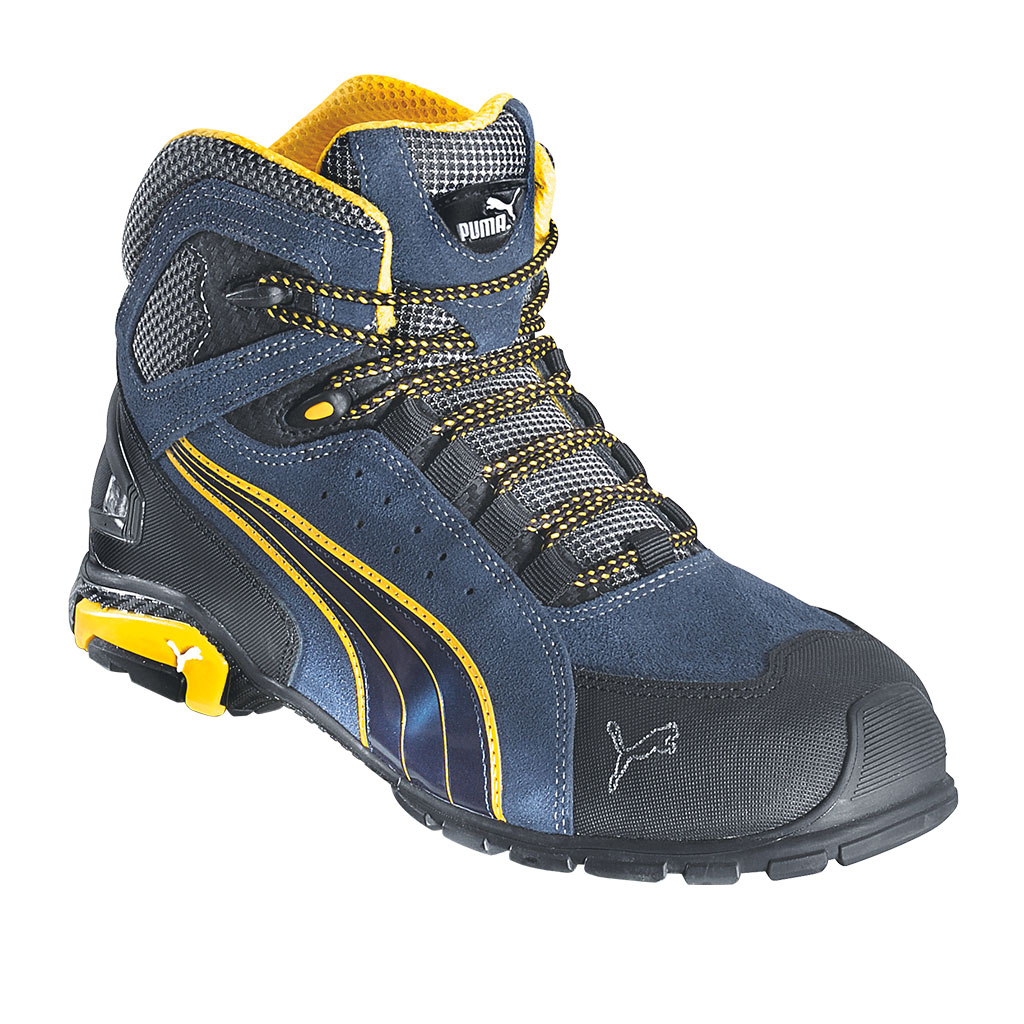 6e41278dbfa2 Zoom Puma Safety Rio Mid Safety Boots S1P EN ISO 20345 blue