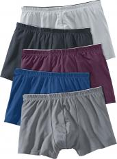 !?Micro Fibre Retro Shorts, Pack of 5