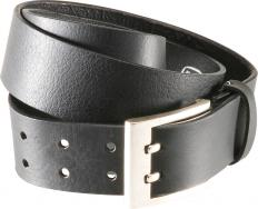 !?Double mandrel leather belt
