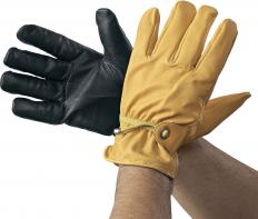 !?Western gloves without inner lining