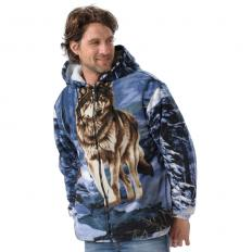 !?Eagle Hooded Jacket