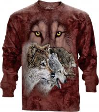 !?The Mountain Longshirt Find 9 Wolves