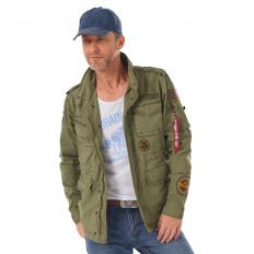 !?Alpha Industries Fliegerjacke Huntington Patch