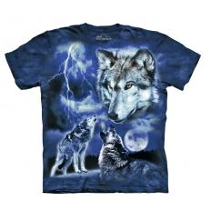!?The Mountain T-Shirt Wolves of the Storm
