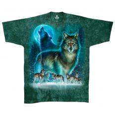 !?Liquid Blue T-shirt Wolf Moon
