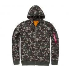 !?Alpha Industries Jack X-fit Hoody Camouflage