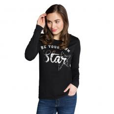 "!?Shirt met lange mouwen ""Be your own Star"""