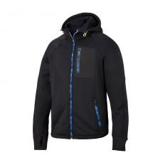 !?Snickers FlexiWork Stretch-Fleece Kapuzen-Arbeitsjacke