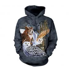 !?Shirt met capuchon Find 11 Owls