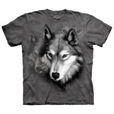!?Kids T-Shirt Wolf Portrait