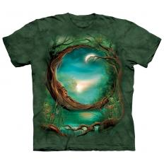 !?T-shirt Moon Tree