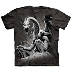 !?T-shirt Black Dragon