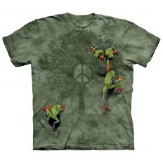 !?T-shirt Peace Tree Frog