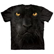 !?T-shirt Black Panther Face