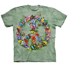 !?T-Shirt Butterfly Dragonfly Peace
