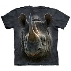 !?T-Shirt Black Rhino