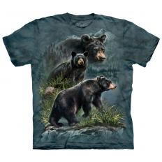 !?T-shirt Three Black Bears