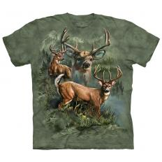 !?T-Shirt Deer Collage