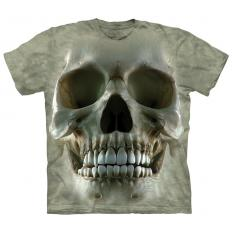 !?T-Shirt Big Face Skull