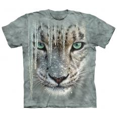!?T-Shirt Icicle Snow Leopard