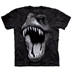 !?T-Shirt Big Face Glow Rex
