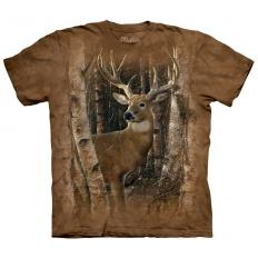 !?T-Shirt Birchwood Hirsch