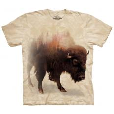 !?T-shirt Bison Forest
