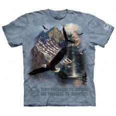!?T-Shirt Mountaintop Freedom