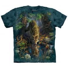 !?T-shirt Enchanted Wolf Pool