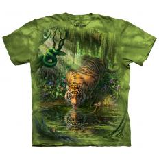 !?T-shirt Enchanted Tiger