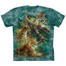 !?T-Shirt Three Jungle Cats