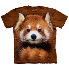 !?T-shirt Red Panda Portrait