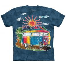 !?T-Shirt Batik Tour Bus