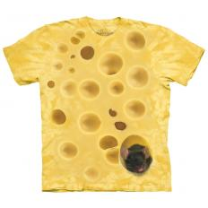 !?T-Shirt Swiss Cheese Mouse