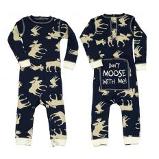 !?Baby Infant Flapjack Classic Moose Blue