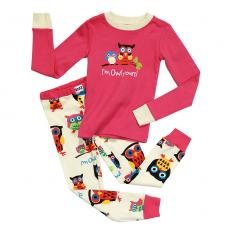 !?Enfant Pyjama Set I'm Owl Yours