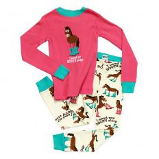 !?Kids PJ Set Long-Sleeve Kids Booty Sleep