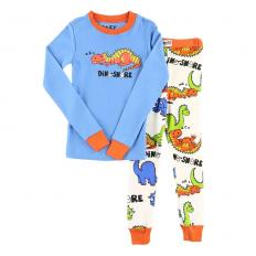 !?Kids PJ Set Long-Sleeve Kids Dino-Snore
