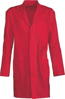 Planam Cotton Work Coat red | 54