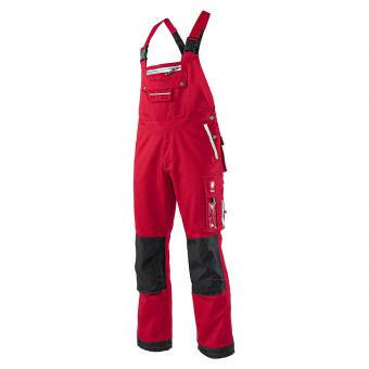 KRÄHE CanvasPro Bib & Brace red | 56