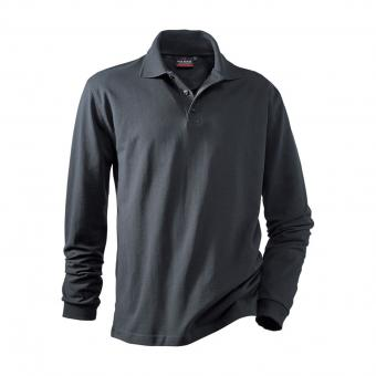 Hakro Performance Long-Sleeve Polo Shirt anthracite | M