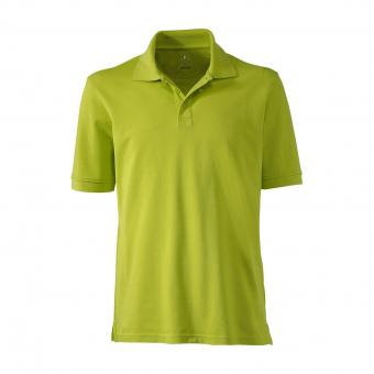 KRÄHE Basic Pique Polo Shirt green | S