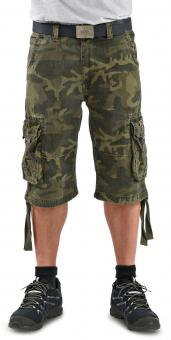 Alpha Industries Jet Bermudas medium groen | 38