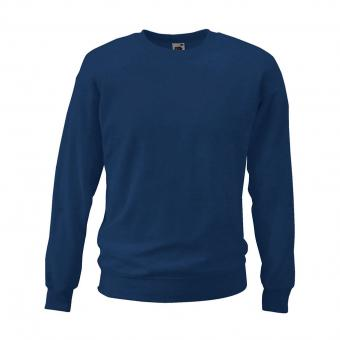 Fruit of the Loom Sweatshirt marine | S