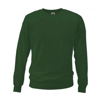 Fruit of the Loom Sweatshirt grün | L