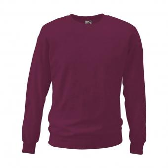 Fruit of the Loom Sweatshirt bordeaux | L