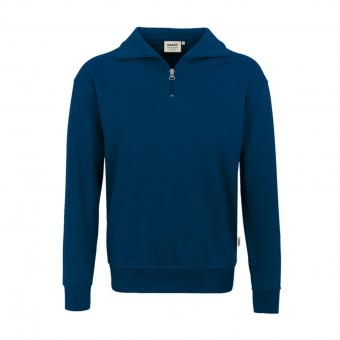 Hakro Zip Sweat Premium marine | M