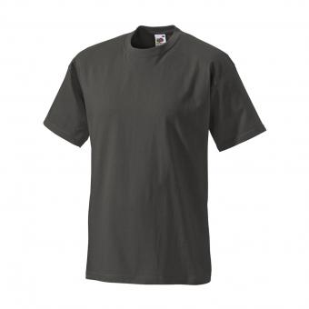 Fruit of the Loom T-Shirt anthracite | S