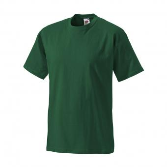 Fruit of the Loom T-Shirt green | S