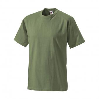 T-shirt Fruit of the Loom olive | S